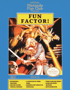 Fun Factor issue 2 cover