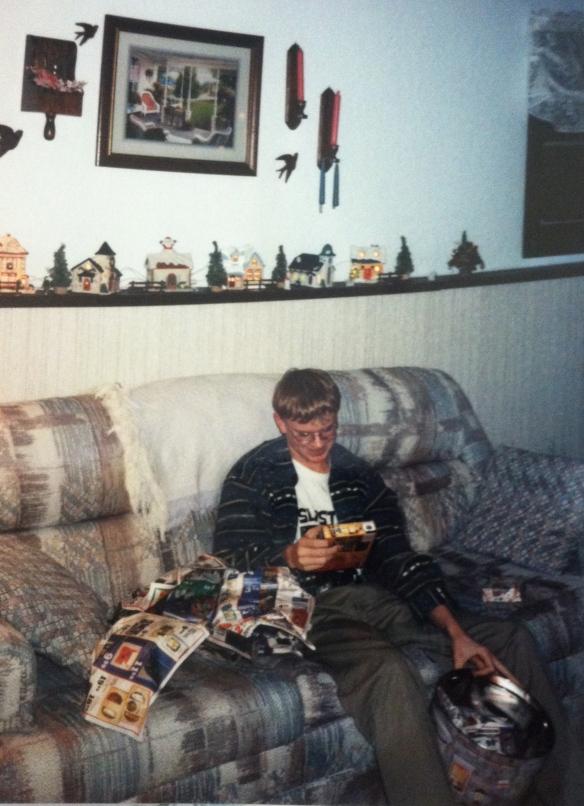 Fast forward 10 years and I'm a fat teen. Slapstick Shirt. Killer Instinct Gold. No regrets.