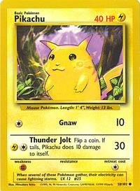 PikachuBaseSet58