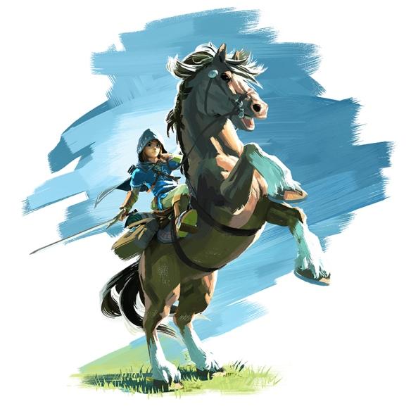 TLOZ_Link-Horse