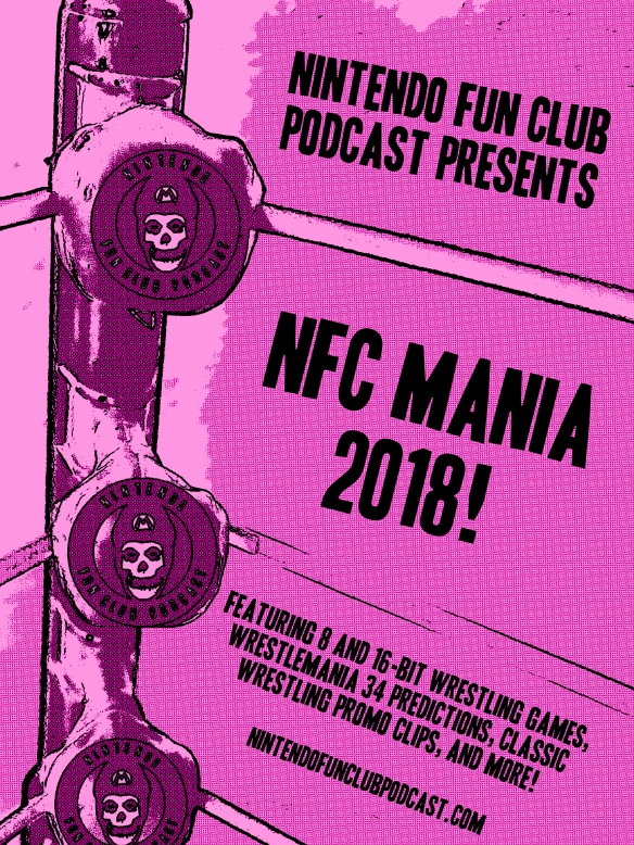 NFC Mania 2018 Poster